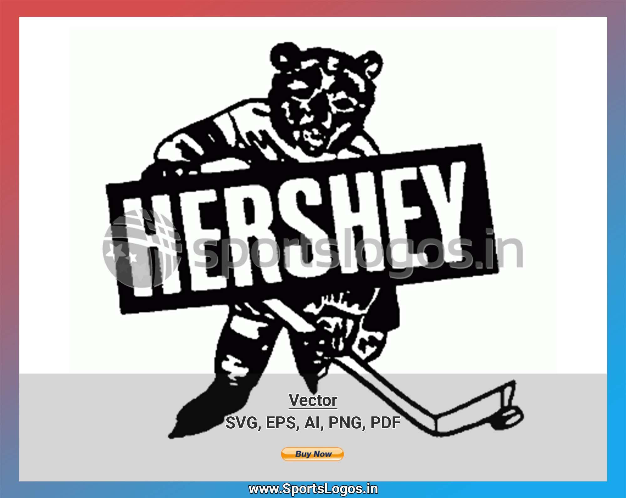 Hershey Bears Hockey Sports Vector Svg Logo In 5 Formats Spln001828 Sports Logos Embroidery Vector For Nfl Nba Nhl Mlb Milb And More American Hockey League Sport Hockey Hershey Bears