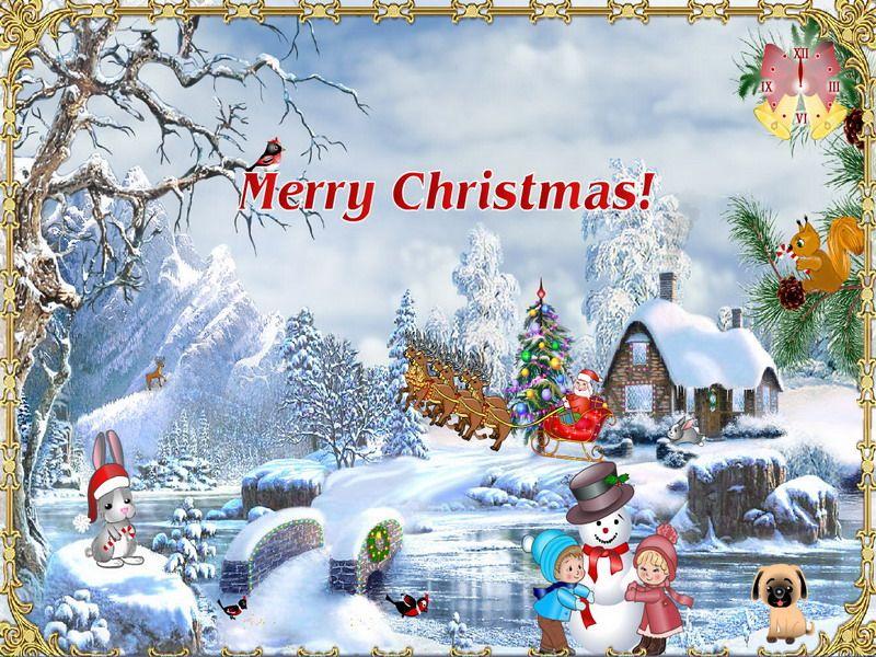Christmas Screensaver Christmas Suite Fullscreensavers Com Christmas Screen Savers Christmas Desktop Easy Christmas Wreaths