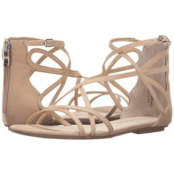 6e7dbb372 Chinese Laundry Penny (Sand Micro Suede) Women s Sandals ( 60) ❤ liked on