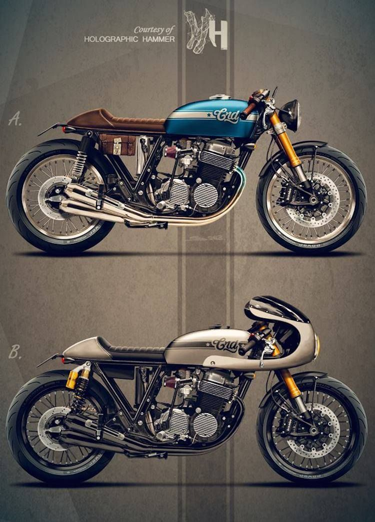 Pin su Cafe racer motorcycle