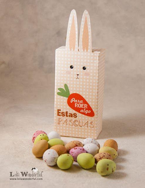 DIY LW: Caja conejo de Pascua