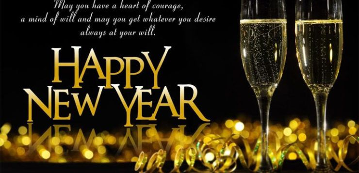 happy new year 2018 facebook messages quotes wishes status