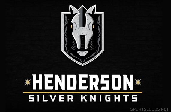 Henderson Silver Knights Unveil Logo New Affiliate Of Vegas Golden Knights Chris Creamer S Sportslogos Net In 2020 Silver Knight Vegas Golden Knights Golden Knights
