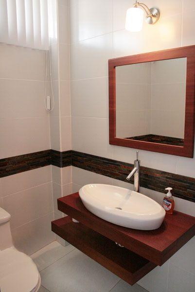 Lavabos para baños con mueble empotrado - sin patas | Room decor ...