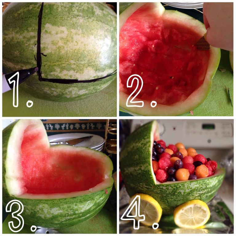 How to: Watermelon Baby Carriage