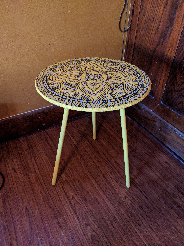 Mandala Table Etsy
