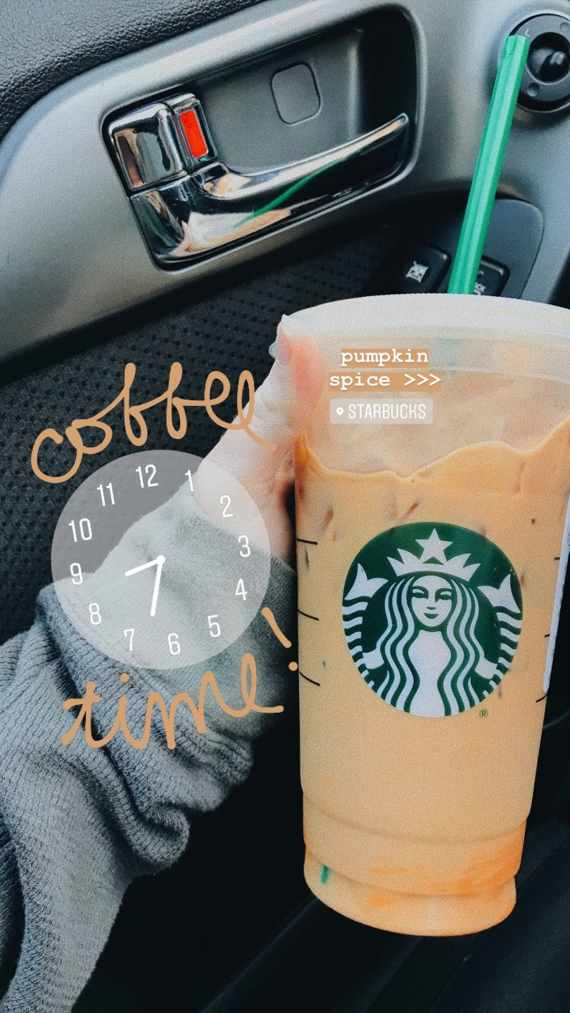 Pumpkin Spice Coffee Baby With Images Instagram Story Ideas