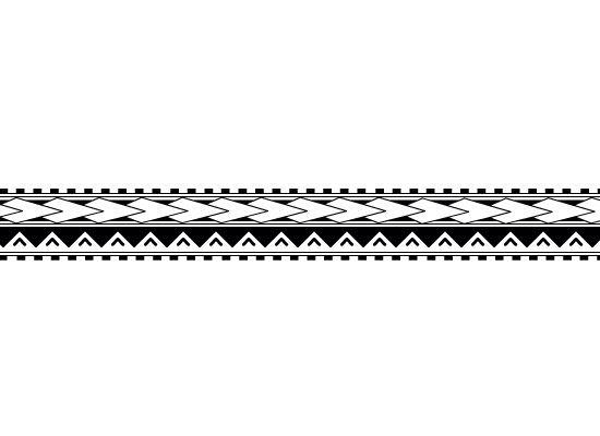 Maori Band Tattoo Design: Tatuagens Polinésias, Tatuagem Maori, Tatoo