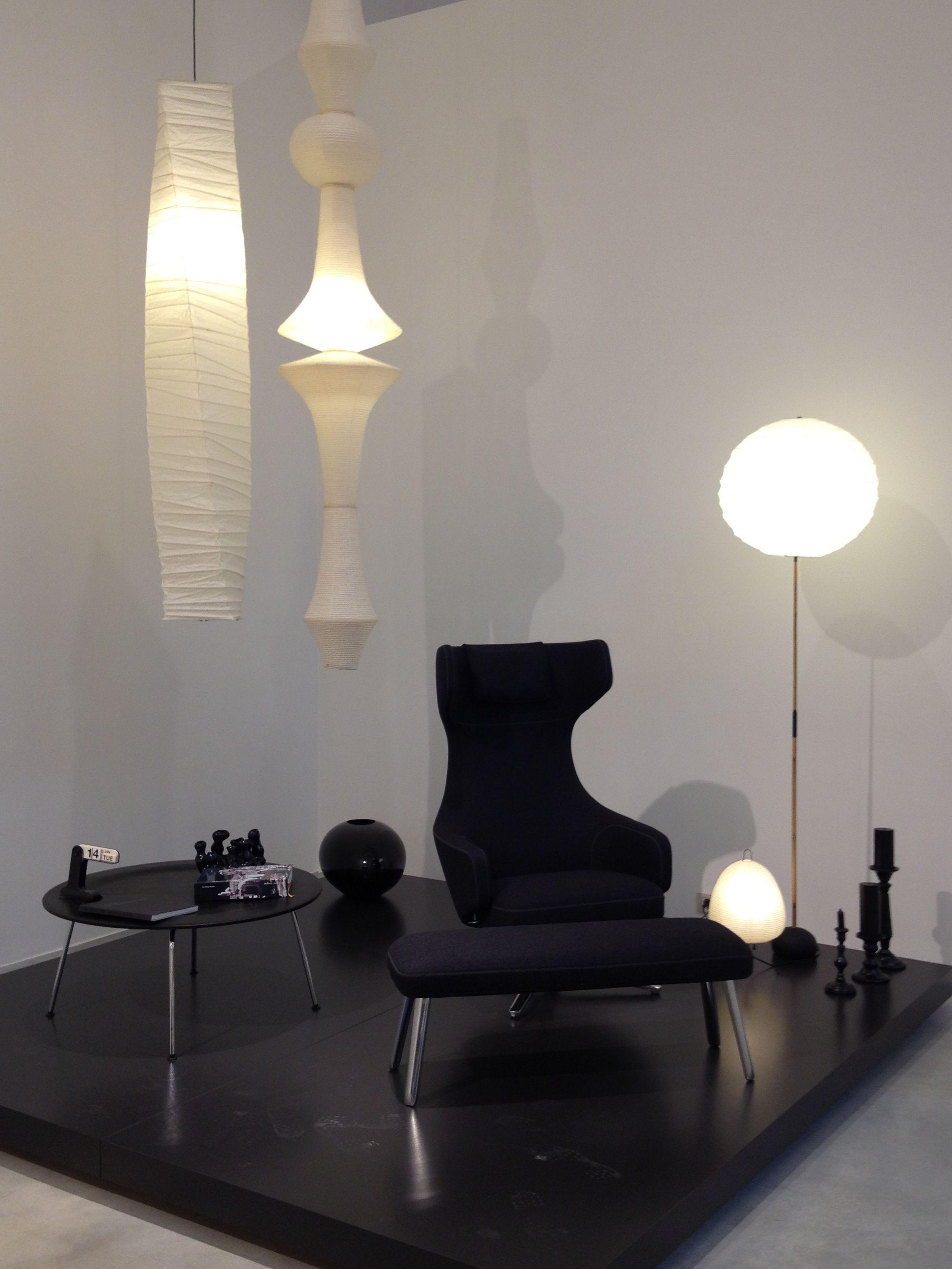 Lampe Akari Light Sculptures De Isamu Noguchi 1951 Chaise Grand