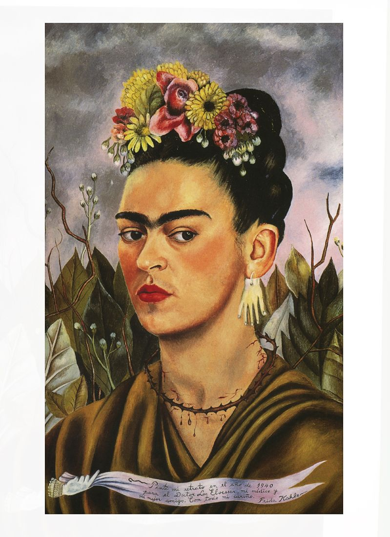 01 frida kahlo self portrait 799 1100 art pinterest artist. Black Bedroom Furniture Sets. Home Design Ideas