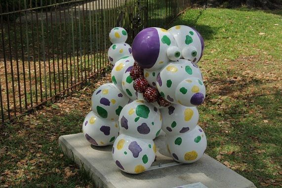 New Orleans Bead Dog