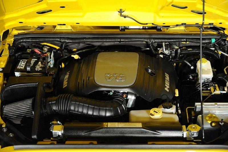 2011 Jeep Wrangler Rubicon AEV HEMI Engine View 2011