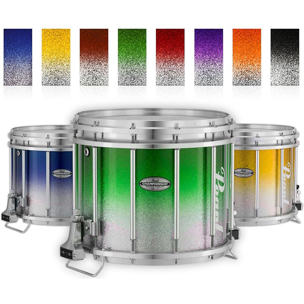 Championship Maple Varsity Ffx Marching Snare Drum Fade Top Finish