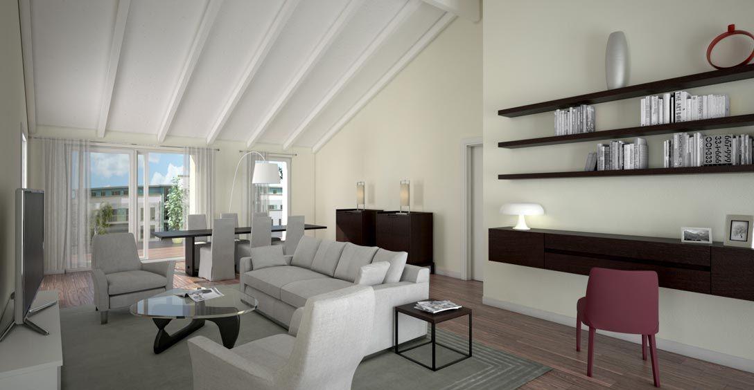 Soffitto travi a vista bianco mj65 regardsdefemmes - Arredare casa con travi a vista ...