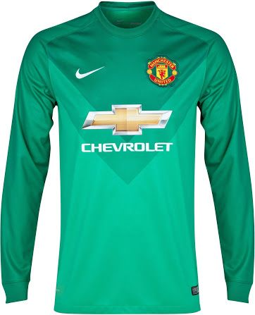 half off d57e9 464c9 Manchester United 14-15 Home and Away Kits - Footy Headlines ...