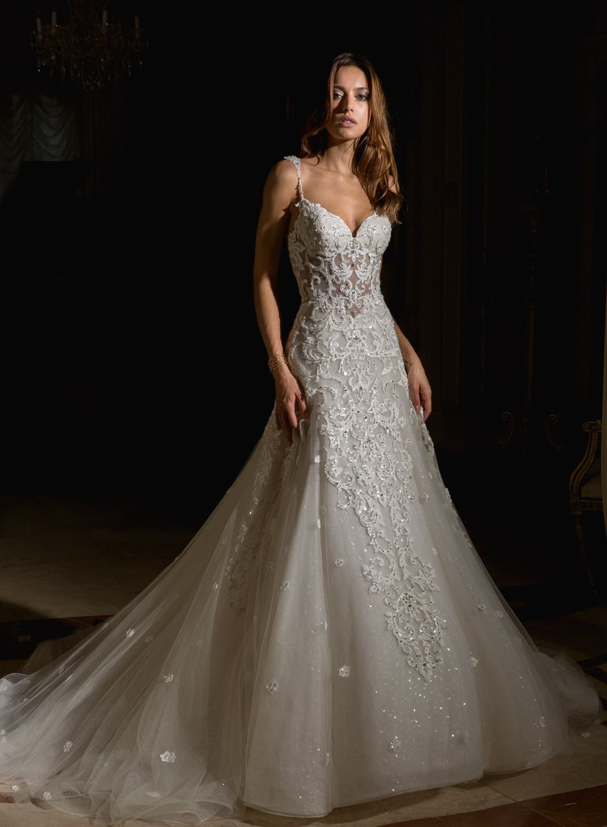Eve of Milady Couture Collection Style 4355   Couture Bridal Gowns ...