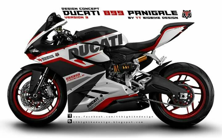 899 Panigale Design Concept By Ttbigbikedesign Ducati