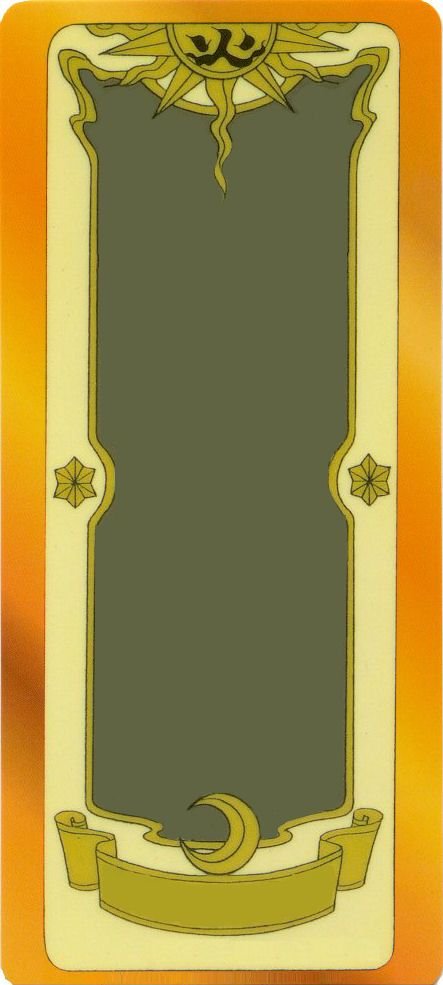 Blank Clow Card Template by DracosDerpyHoof on DeviantArt - blank card template