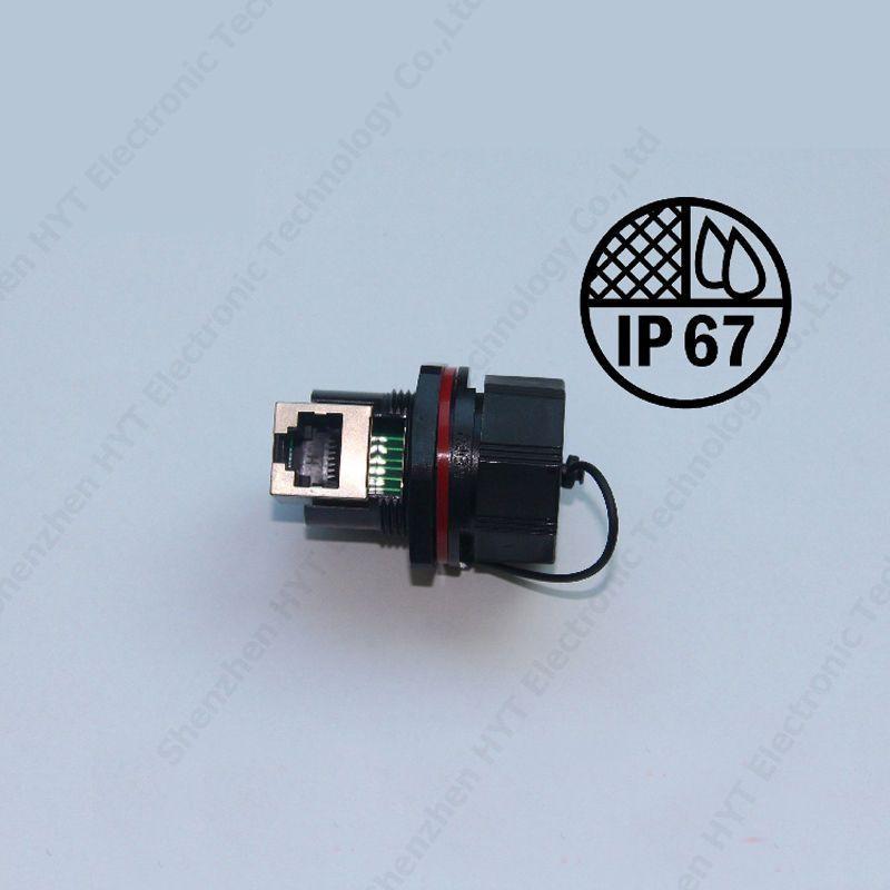 Weipu Rj45 Connector Ip67 Waterproof Male Plug Female Elbow