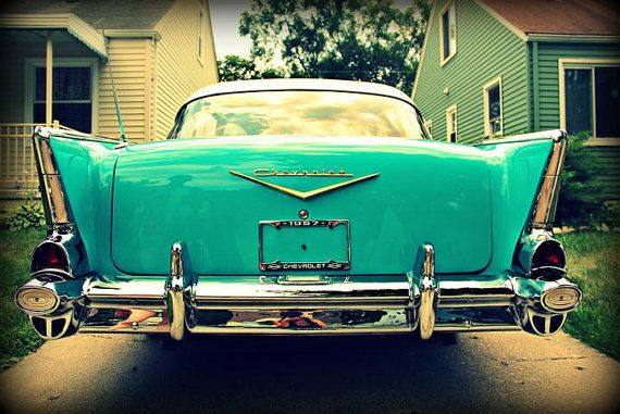 Such A Great Shot Of An Old Bel Air By Janna Bissett Lilacpopphotography On Etsy Love The Teal And Chrome Bel Air Car Bel Air Chevrolet Bel Air