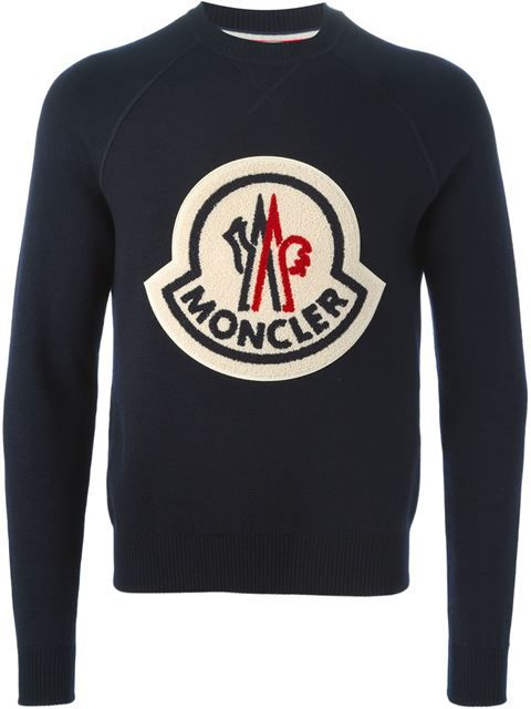 Shop Moncler X Ami logo patch sweater in Likus Concept Store