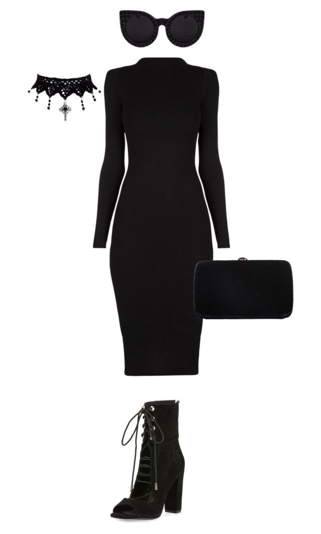 """""""Untitled #82"""" by abarzani ❤ liked on Polyvore featuring Kendall + Kylie and Sergio Rossi"""