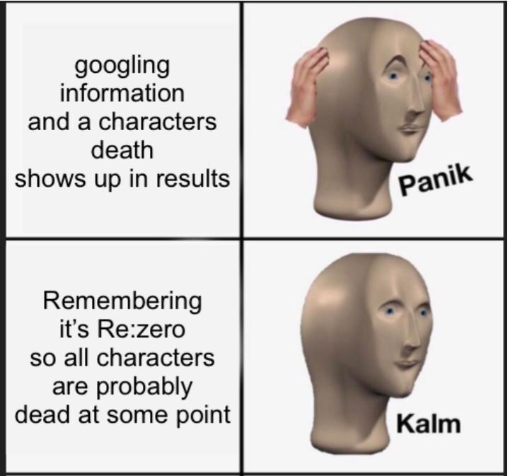 Re Zero In 2021 Prequel Memes Top Memes Memes