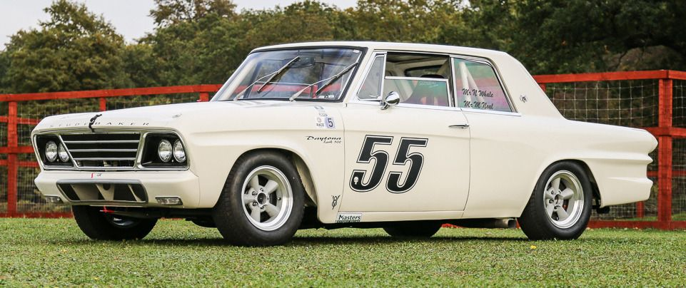 Studebaker Lark Daytona 500 Race Car 1965 To Be Offered For Sale At Silverstone Auctions Inau 1960s 1965 500 Auction Auctions Brands Car Cars D