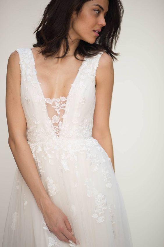 31 Ideen, um weg von einem Sexy Brautkleid Ziehen | Hochzeitskleider ...