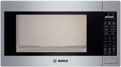Bosch Hmb5051 24 Inch Built In Microwave Oven With 1 200 Cooking Watts 10 Power Levels A Built In Microwave Built In Microwave Oven Stainless Steel Microwave