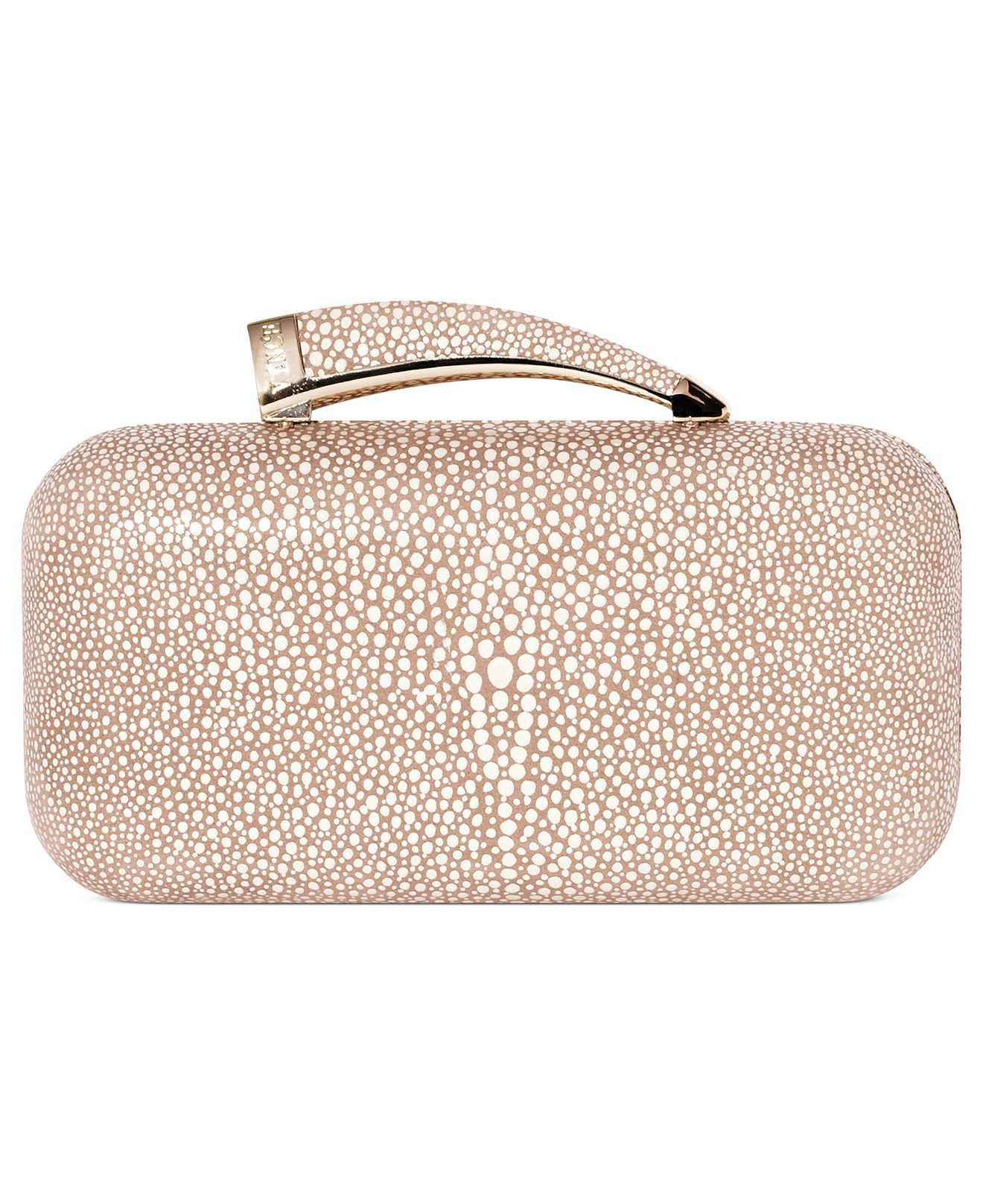 Vince Camuto Handbag, Horn Clutch - Clutches & Evening Bags - Handbags & Accessories - Macy's