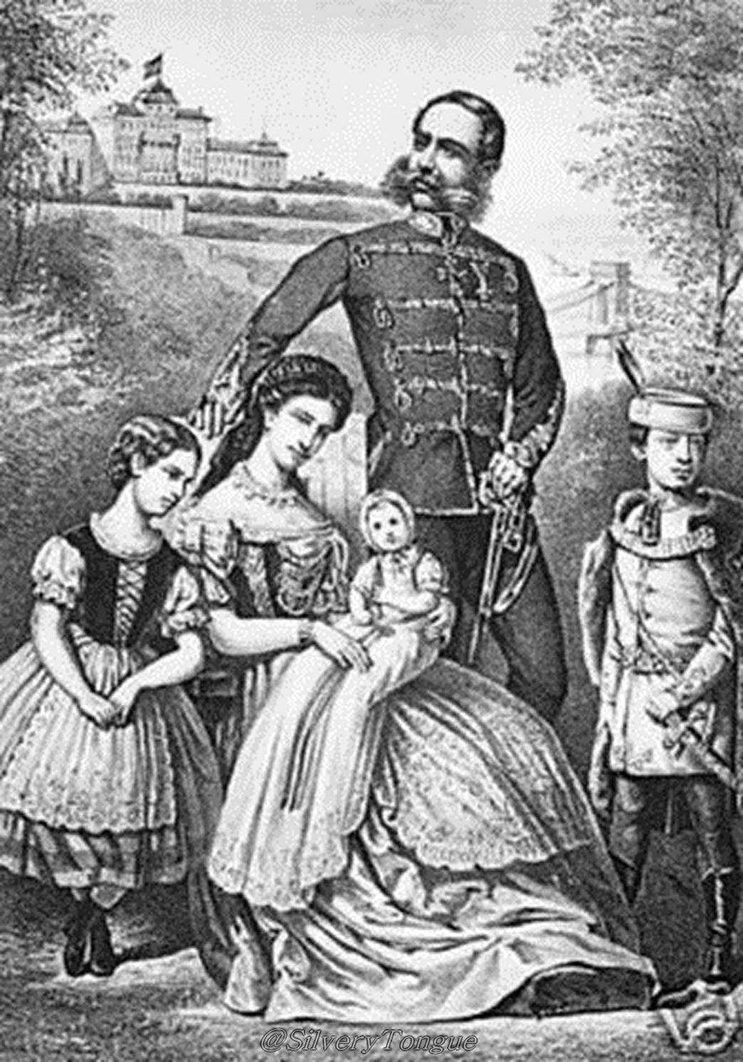 Real Couple Franz Josef I And Empress Elisabeth Of Austria The Imperial Family Of Austria Hungary Kaiserin Sisi Prinzessinnen Kaiser