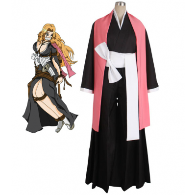 New Anime Cos Bleach Matsumoto Rangiku 10th Division Lieutenant Cosplay Costume