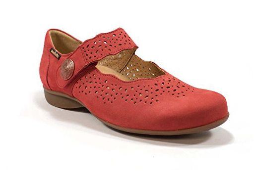 MOBILS, Damen Mary Jane Halbschuhe , rot rot Größe: 2.5
