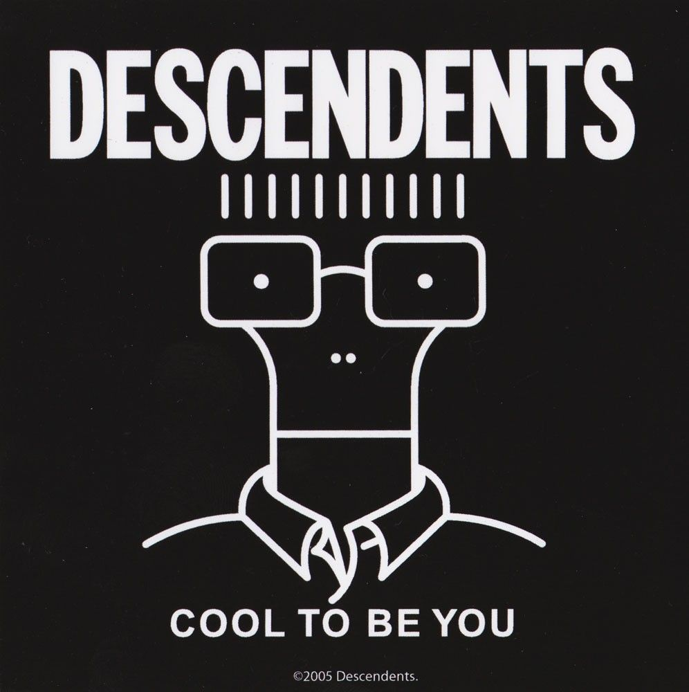 Descendents Cool To Be You Sticker Bandas Musica