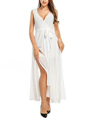 e974e8bf8 Oferta  22.99€. Comprar Ofertas de Meaneor Vestidos Largos de Fiesta Gasa  Mujer Cuello