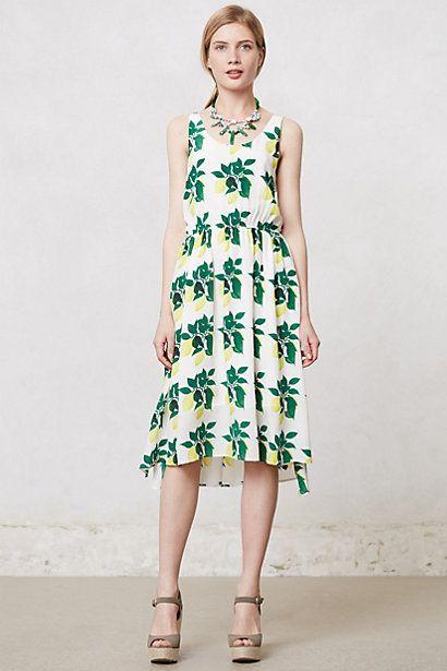 Lemon Tree Dress #anthropologie