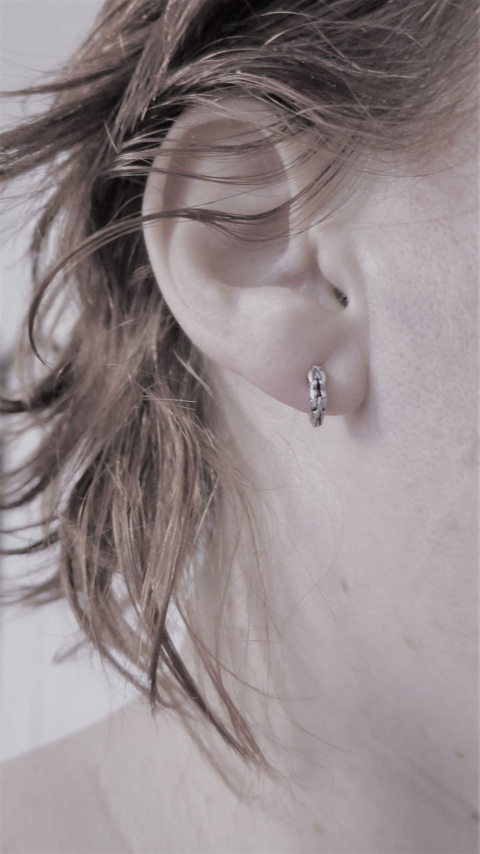 Statement Earrings Tribal Earrings Indian Earrings Silver Spiral Earrings ES3 Ethnic Earrings Gypsy Earrings Silver Earrings