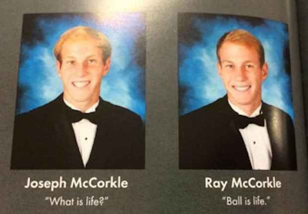 The Meaning of Life Quote: | Bahaha. | Best yearbook quotes ...