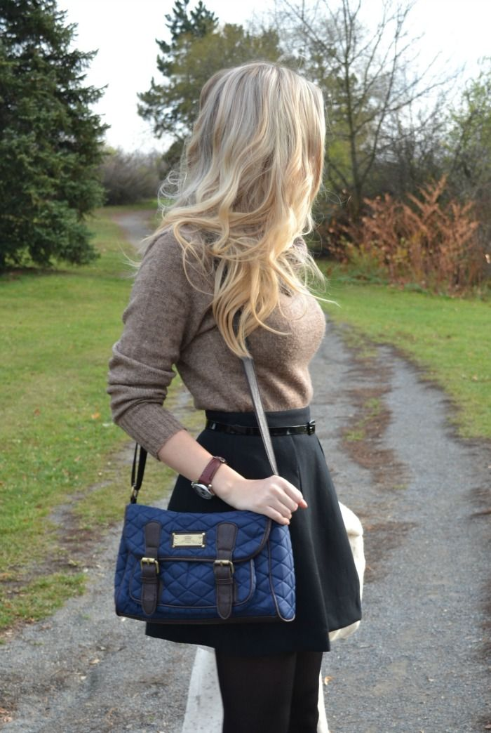 Style Cookbook by Simone: {Outfit} Flared Skirt