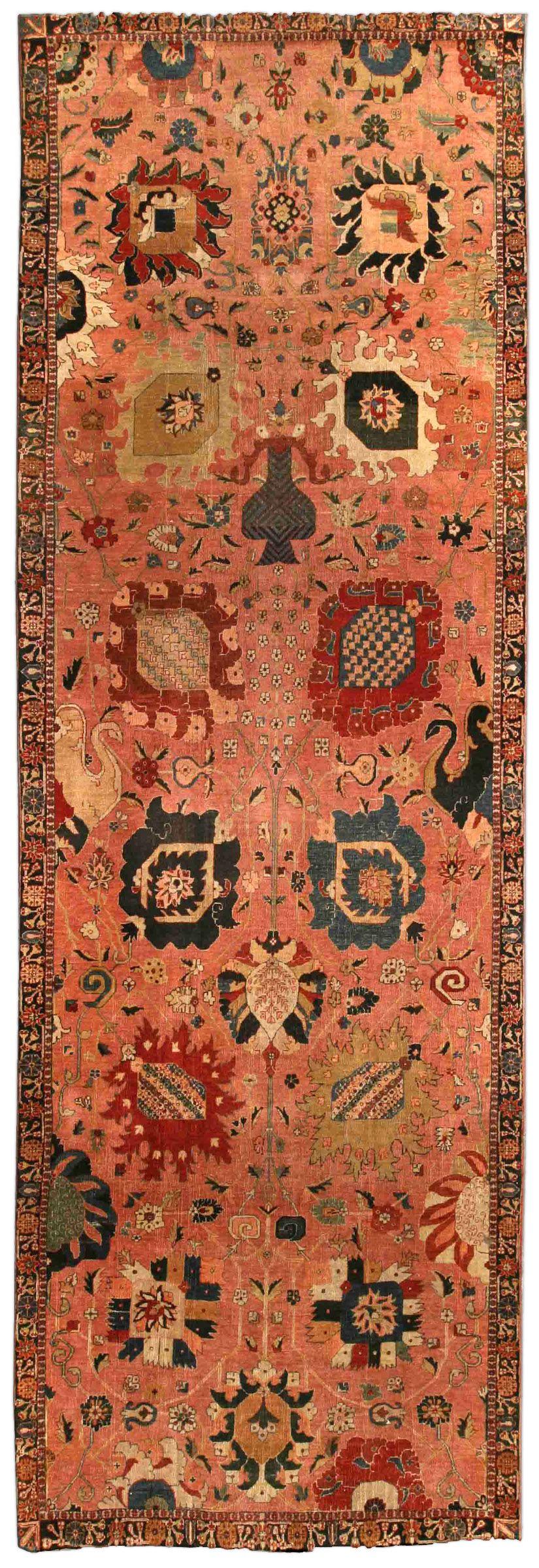 Persian tabriz carpet antique persian rug antique rug bb
