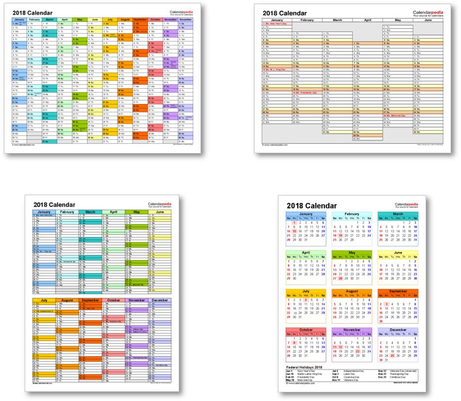 January 2018 Calendar Xls. . #January 2018 Calendar Xls | calendar ...