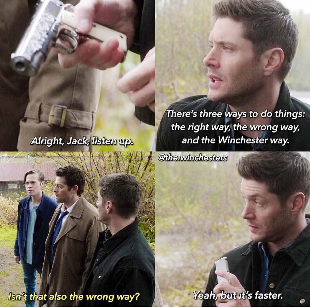 Supernatural Where Do We Go From Here: Made By The Instagram Account - (the.winchesters)
