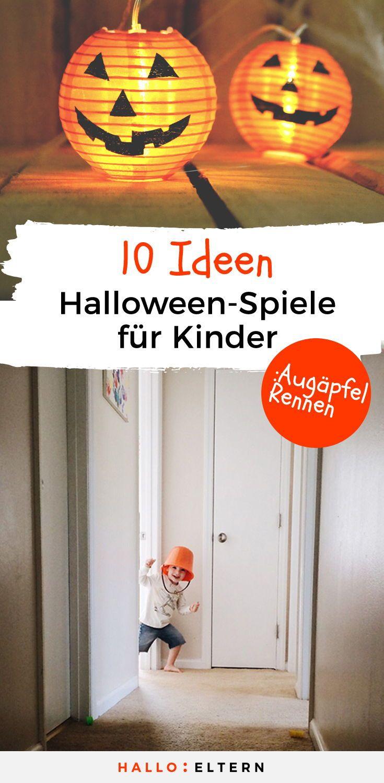 Traut ihr euch an die Grusel-Kiste? Die besten 10 Halloween-Spiele für Kinder #partyideen