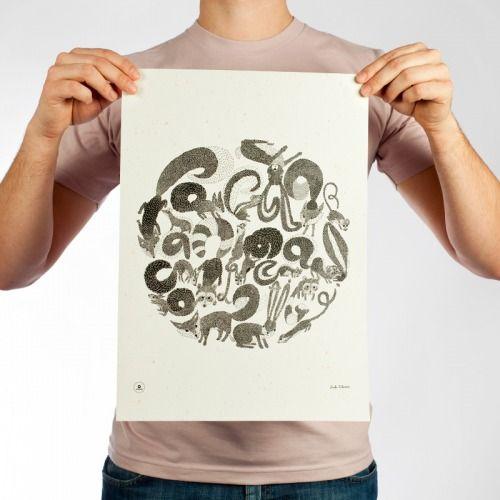 Pozeráte sa na kúsky z limitovanej edície plagátov k oslave 10-ročného životného jubilea značky Popular.