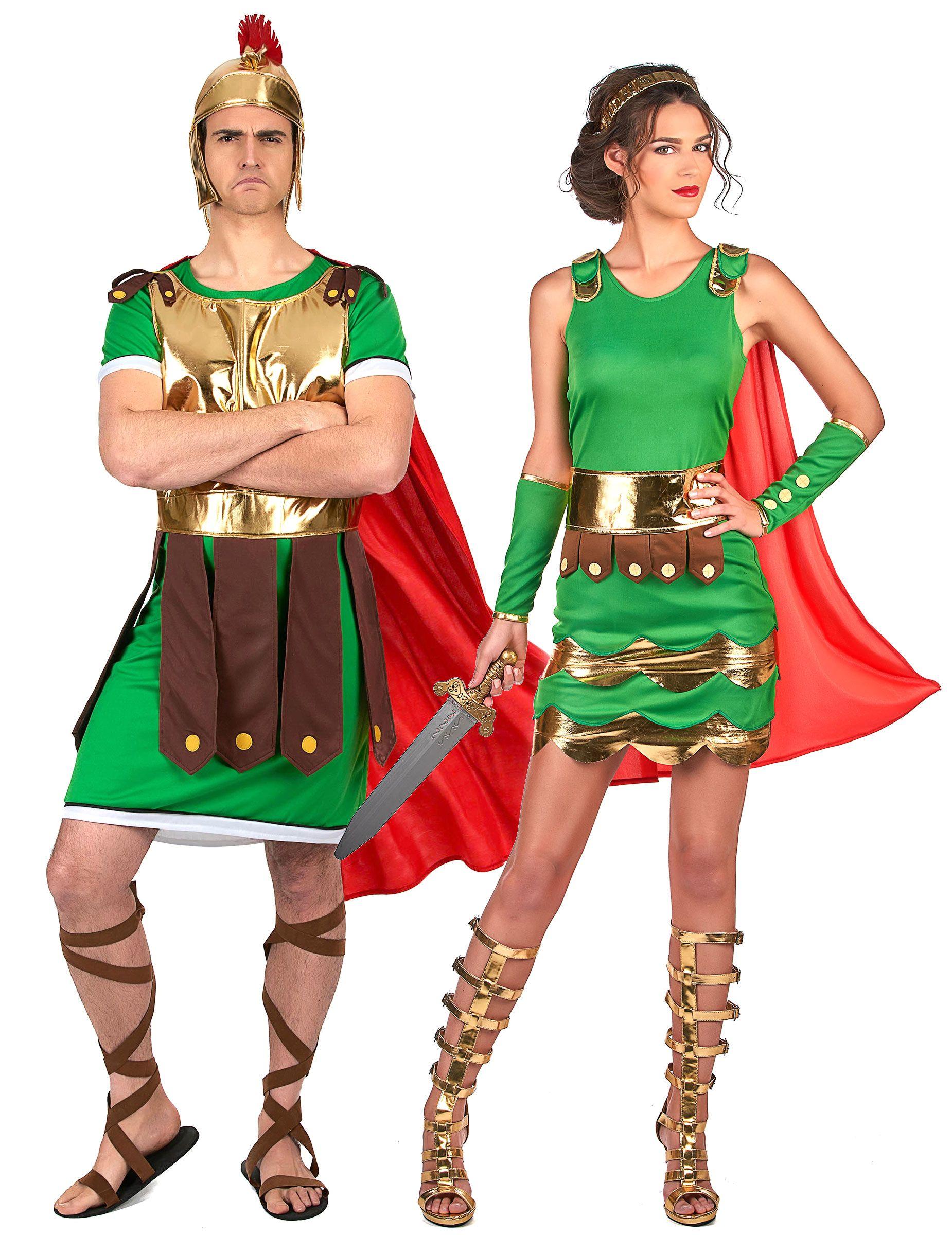 efaf352a3 Disfraz pareja soldados romanos adultos en 2019   Semana santa ...