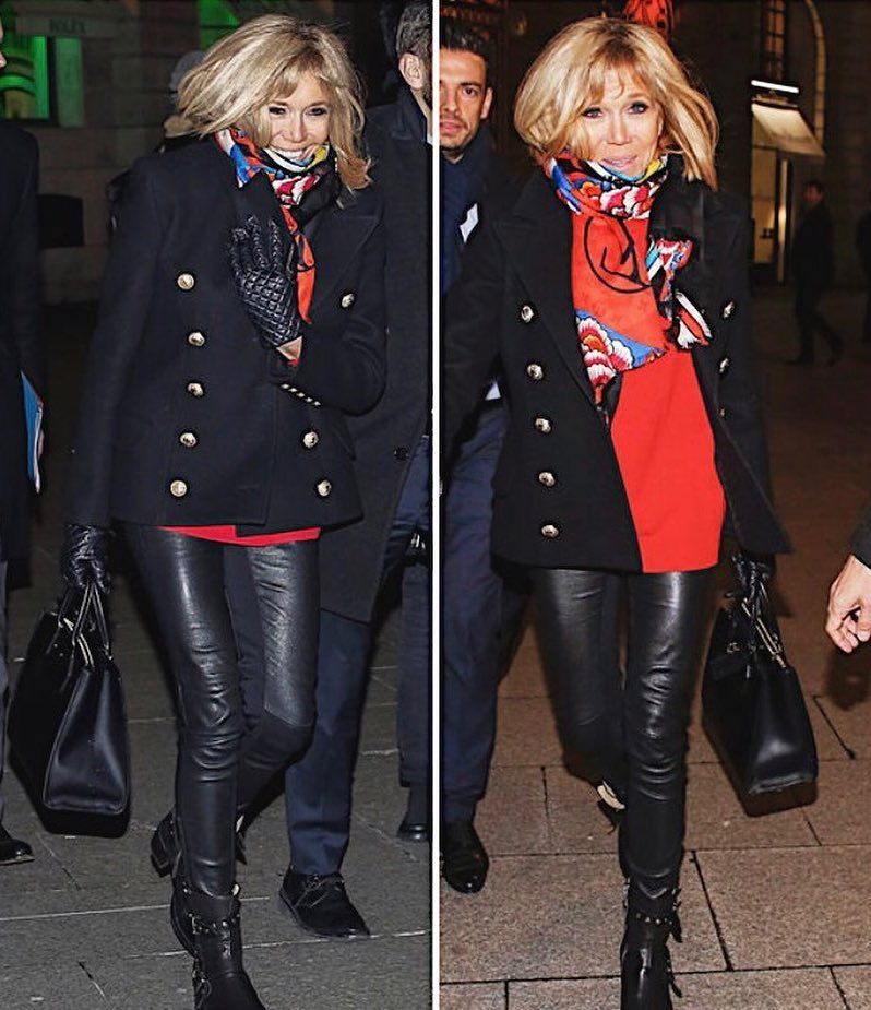 Brigitte Macron hier soir à la Paris Fashion Week Daily
