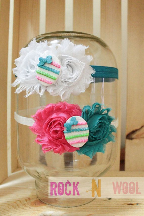 Easter egg headband 6month to adult by RockNWool on Etsy, $9.00