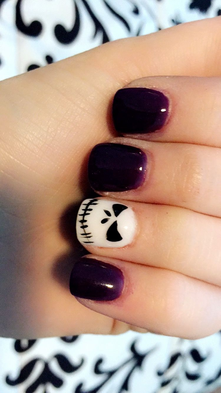 Nightmare before Christmas nails! Nexgen nails | Nails | Pinterest