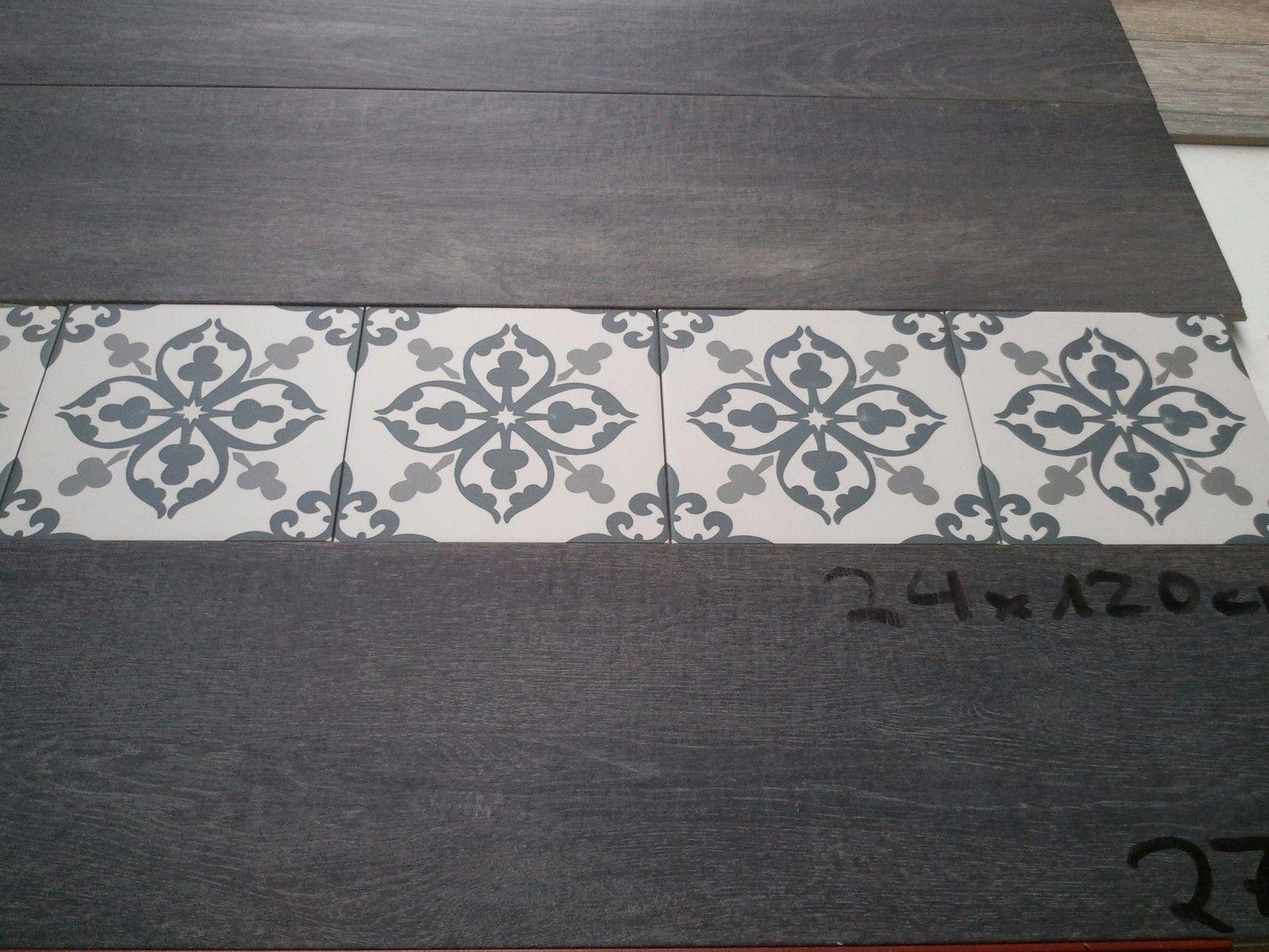 Bodenfliese Klingenberg Antique Antik 50218 Assisi 20 x 20 Ornament historisch